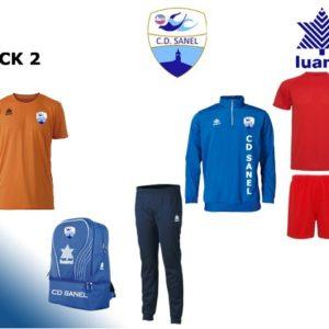 Pack 2 ropadeportiva