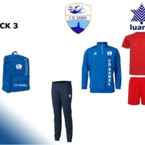 Pack 3 ropadeportiva